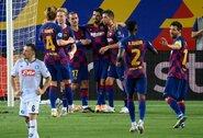 """""""Barcelona"""" nugalėjo """"Napoli"""" ir iškovojo bilietą į Čempionų lygos ketvirtfinalį"""