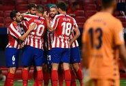 """Du po VAR peržiūros neįskaityti """"Atletico"""" įvarčiai nesutrukdė iškovoti pergalės"""