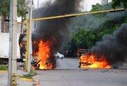 Meksikoje rungtynės nutrauktos dėl šūvių: saugumą sutrikdė narkotikų barono sūnaus suėmimas