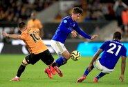 """Apie antrą vietą Anglijoje svajojantys """"Leicester City"""" prarado taškus prieš """"Wolves"""""""