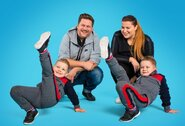 Erika ir Merūnas Vitulskiai sūnus skatina sportuoti