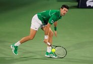 N.Djokovičius sėkmingai pradėjo turnyrą Dubajuje, R.Berankio startas – antradienį