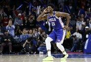 """J.Embiidas: """"Abejoju, jog krepšininkai laikysis burbulo taisyklių"""""""