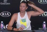 """Jau pirmajame """"Australian Open"""" rate kritusi M.Šarapova mįslingai kalbėjo apie savo ateitį"""
