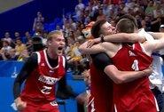 Rusijos krepšininkai finale įveikė latvius ir triumfavo Europos žaidynėse