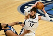 "NBA nukėlė dar vienas ""Grizzlies"" rungtynes"