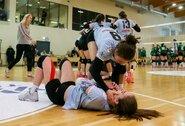 Dramatiškame Lietuvos moterų tinklinio čempionato starte – čempionių pergalė