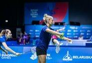 Badmintononininkių duetas Europos žaidynėse pralaimėjo britėms (papildyta)