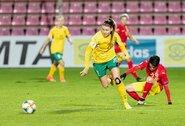 Lietuvos moterų rinktinė antrajame kėlinyje krito prieš Rumuniją