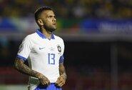 """D.Alvesas: """"Brazilijos rinktinė nėra silpnesnė be Neymaro"""""""