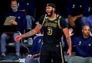 """""""Lakers"""" su A.Davisu sudarys beveik 200 mln. JAV dolerių vertės kontraktą"""
