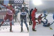 Šlykštus ruso elgesys: po finišo trenkėsi į suomį ir uždirbo diskvalifikaciją visai rinktinei