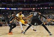 """""""Lakers"""" pralaimėjo, A.Davisas nebaigė rungtynių"""