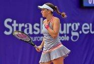 """J.Ostapenko pergalingai pradėjo """"Roland Garros"""" turnyrą, ketvirtoji pasaulio raketė vargo su egiptiete"""
