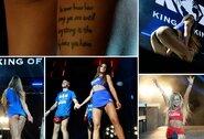"""Pamatykite: seksualiosios """"Bushido Angels"""" merginos kaitino kovinio sporto gerbėjų kraują"""