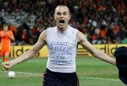 A.Iniestos išpažintis: pelnytas pergalingas įvartis 2010 m. pasaulio čempionato finale padėjo pasveikti nuo depresijos