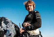 """B.Vanagas: """"Turėjome didžiausią """"OOOPPPPP"""" per Dakarą, Toyota"""" tapo kaip kamuolys"""""""