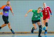 """Moterų rankinio lygoje užtikrintas pergalės šventė """"ACME-Žalgiris"""" ir """"Eglė"""""""
