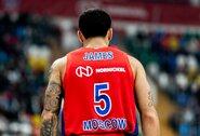 """M.Jamesas taikliais baudos metimais padovanojo CSKA dramatišką pergalę prieš  """"Olympiacos"""""""