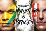UFC čempionei iš Brazilijos – tik kartą pralaimėjusios kanadietės iššūkis