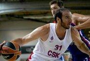 CSKA drebina permainos: atsisveikinta su dar vienu krepšininku