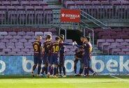 """""""Barcelona"""" pasiekė susitarimą su žaidėjais dėl mažinamų atlyginimų, paaiškėjo, kada išrinks prezidentą"""