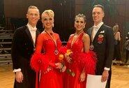 Paskutinėmis varžybų Vokietijoje dienomis – auksas, sidabras ir bronza Lietuvos šokėjams