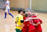 Patyrusiais debiutantais pasipildžiusi Lietuvos salės futbolo rinktinė laikys du kontrolinius testus Nyderlanduose