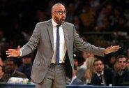 """""""Knicks"""" atleido vyriausiąjį trenerį"""