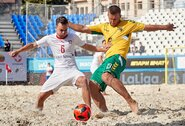 Pasaulio čempionato atrankoje – įspūdingas šveicarų įvartis į lietuvių vartus