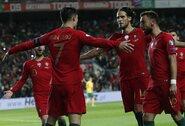 """EURO2020 atranka: C.Ronaldo pelnytas """"hat – trickas"""" ir 6 įvarčius praleidusios Lietuvos rinktinės patirtas skaudus pralaimėjimas"""