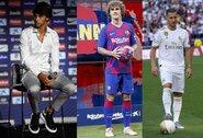 Rekordus mušantys Ispanijos klubai jau išleido daugiau nei milijardą eurų