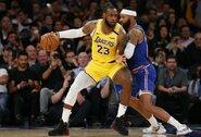 """""""Lakers"""" išsivežė pergalę iš Niujorko"""