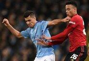 """Neįtikėtina: jaunasis """"Manchester City"""" saugas tapo """"Premier"""" lygos rekordininku"""
