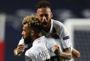 """Rungtynių pabaigoje 2 įvarčius per 3 minutes pelnę PSG išsigelbėjo prieš """"Atalanta"""" ir žengė į Čempionų lygos pusfinalį"""