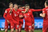 """Pasitikėjimą savimi atgaunantis """"Bayern"""" simbolis T.Mulleris: """"Sėdėti ant suolo? Tai nebuvo smagiausias karjeros epizodas"""""""