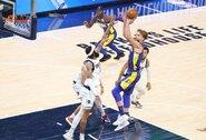 """Dvigubų dublių seriją tęsiantis D.Sabonis pagerino """"Pacers"""" rekordą"""