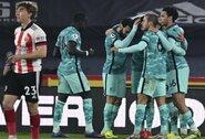 """""""Liverpool"""" nutraukė pralaimėjimų seriją prieš """"Premier"""" lygos autsaiderius"""