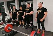 Dar vienas Ž.Savicko rekordas: atkėlė 415 kg