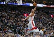 """""""Rockets"""" laimėjo be savo žvaigždžių, atsarginis pelnė 50 taškų"""