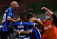 """Grubi vartininko klaida nesutrukdė """"Inter"""" iškovoti pergalės"""