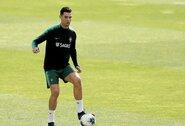 """F.Santosą suerzino klausimų gausa apie C.Ronaldo: """"Visi nori kalbėti apie jį ir pareikšti savo nuomonę"""""""