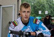 G.Usevičius Europos BMX čempionate pranoko beveik pusę varžovų