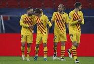 """Čempionų lyga: ir vėl be L.Messi rungtyniavusi """"Barcelona"""" neturėjo bėdų prieš grupės autsaiderius"""