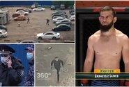 GTA realybėje – po šaudynių Maskvoje sulaikytas MMA kovotojas