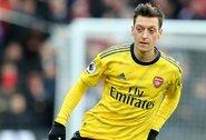 """M.Ozilo sugrįžimas: """"Vėl esu laimingas vilkėdamas """"Arsenal"""" marškinėlius"""""""