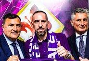 """""""Fiorentina"""" strategas V.Montella džiaugiasi nauju pirkiniu: """"F.Ribery yra ypatingas žaidėjas"""""""