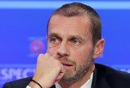 UEFA prezidentas A.Čeferinas pripažino liūdną realybę: šis sezonas gali būti pasmerktas