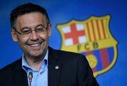 """""""Barcelona"""" prezidentas ginasi: nesamdė bendrovės, kuri turėjo apjuodinti komandos žvaigždes"""
