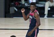 """""""Wizards"""" pirmąją pergalę įsirašė paskutinėse sezono rungtynėse"""
